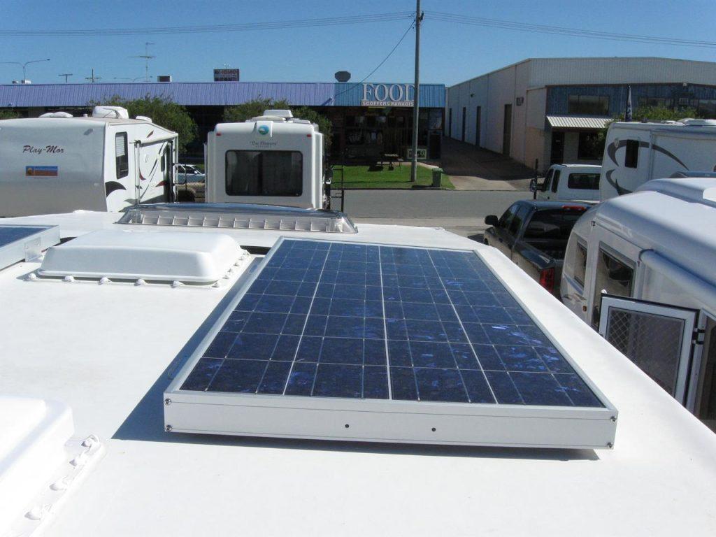 RV solar panels