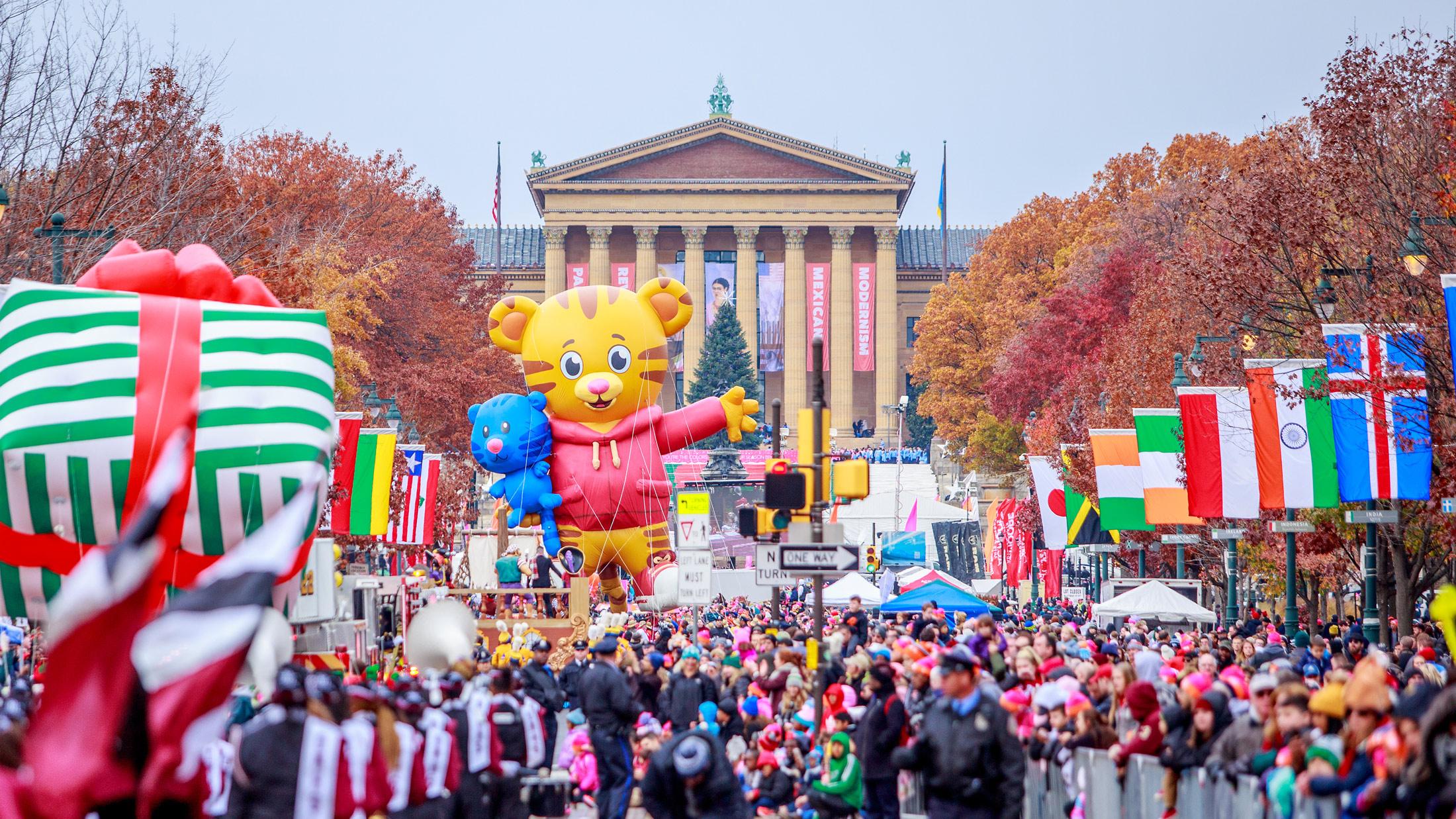 59074658ed Dunkin  Donuts Thanksgiving Day Parade — Philadelphia