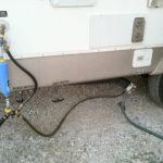 RV waste tank