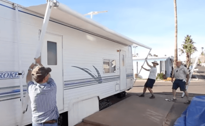Rv Awning Fabric Replacement And Instructions Read This