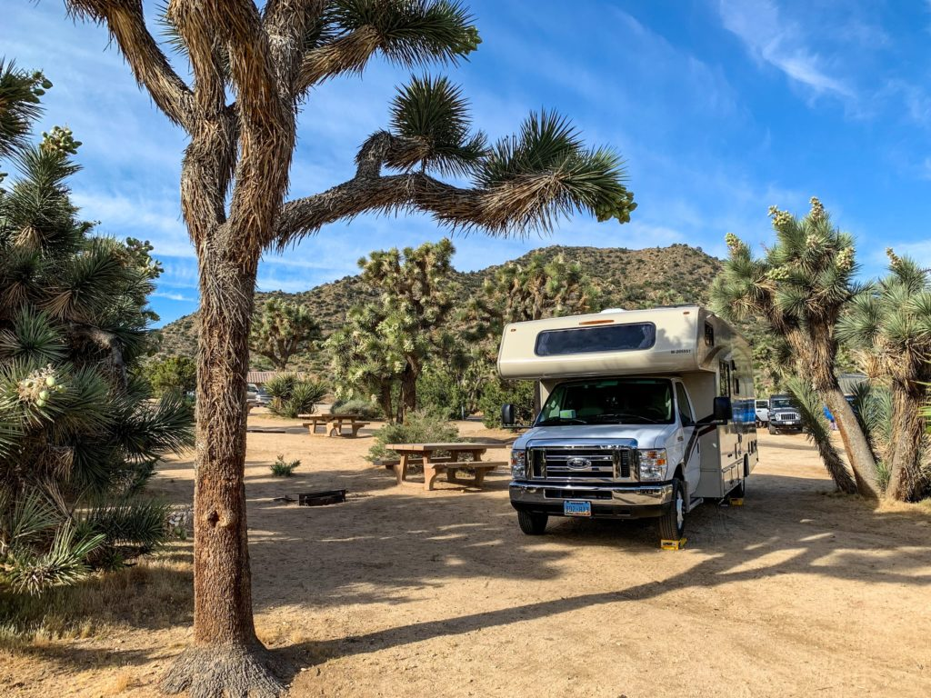 Joshua Tree National Park RV Size Limits