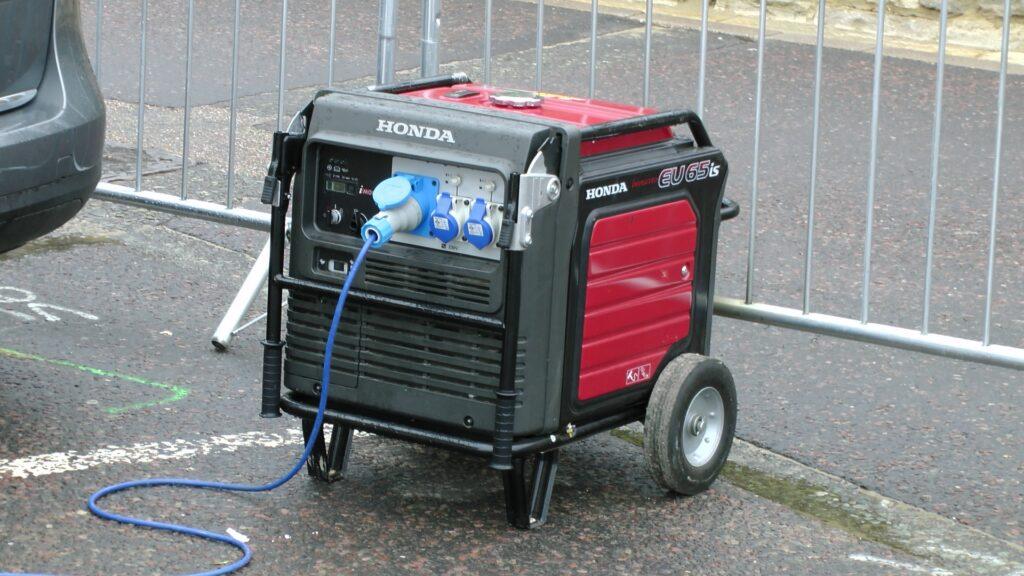 Making a generator quieter