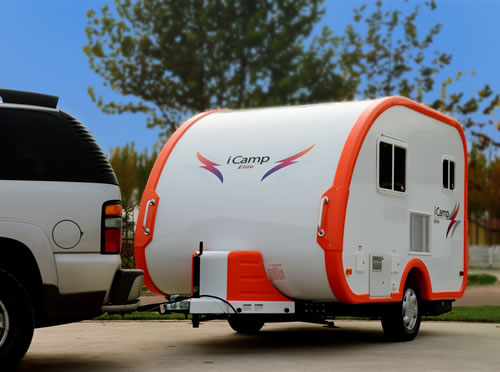 iCamp Small Trailer With Bathroom