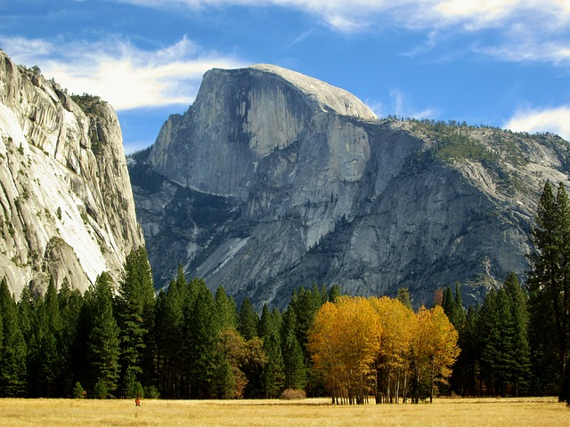 scenic view of Yosemite's Half Dome