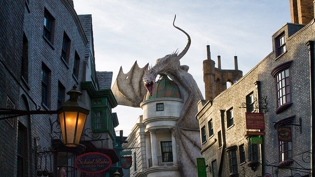 Universal Studios and Harry Potter