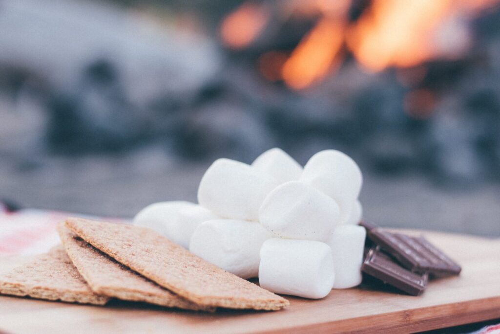 Ingredients for S'mores