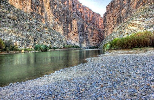 Santa Elena Canyon at Big Bend National Park