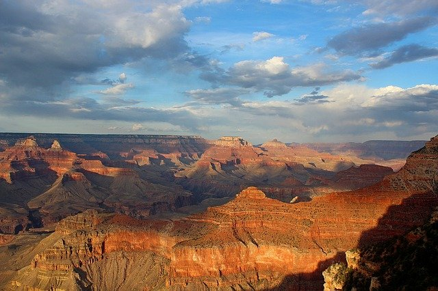 The Grand Canyon at Sunset
