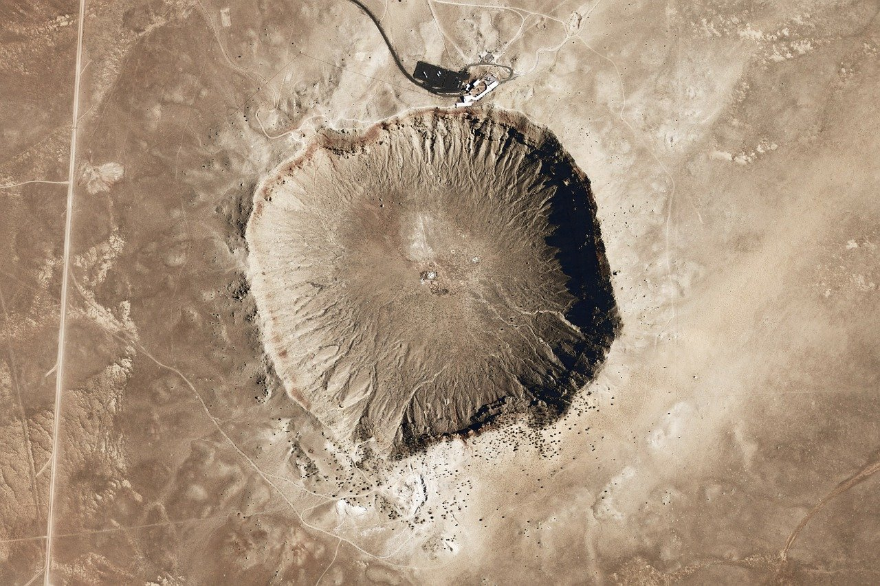 A stunning prehistoric natural landmark, Meteor Crater is more than 50,000 years old and located in the northern Arizona desert.