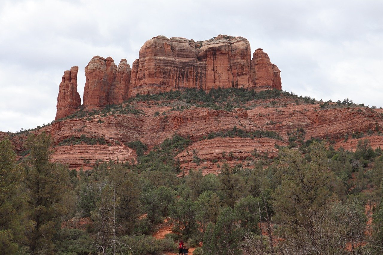 Towering almost 5,000 feet above sea level, Cathedral Rock is an iconic Sedona skyline feature and a great hiking opportunity.