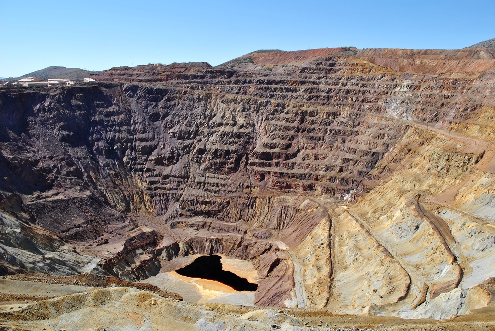 Queen Mine, an old copper mine in Arizona