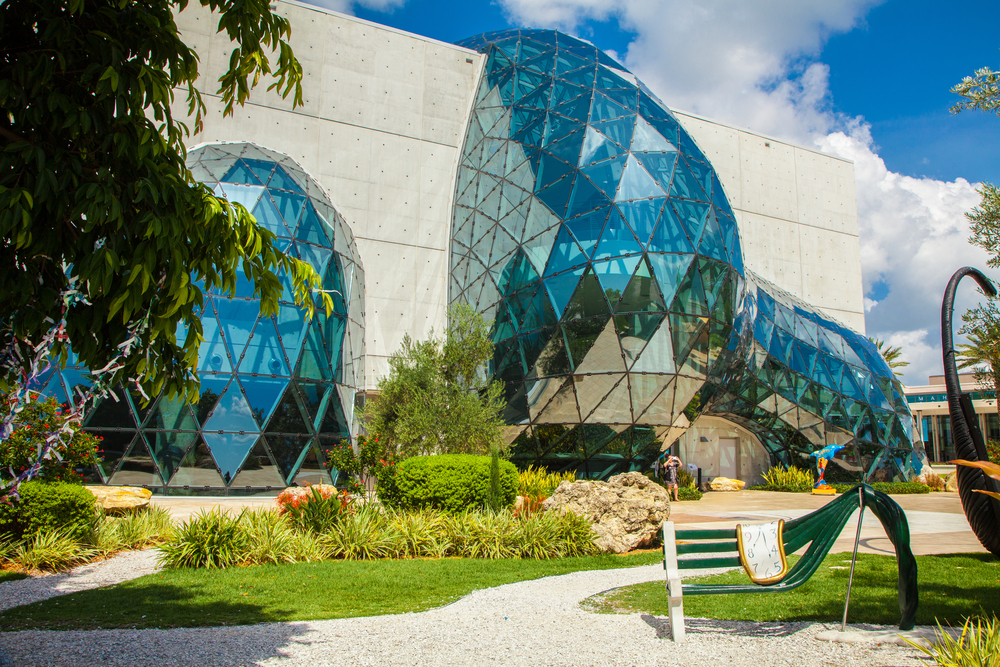 USA. FLORIDA. ST. PETERSBURG, NOVEMBER - 20, 2016: Salvador Dali Museum in St. Petersburg, FLORIDA, USA.