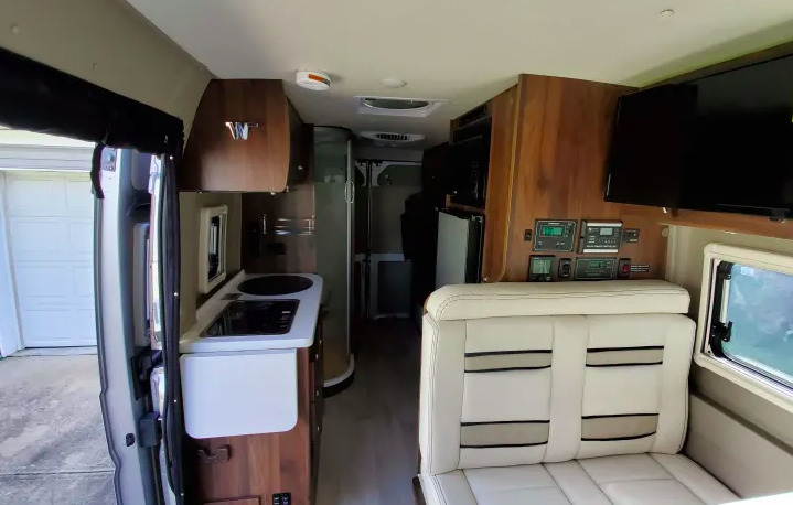 2020 Winnebago Travato 59G interior