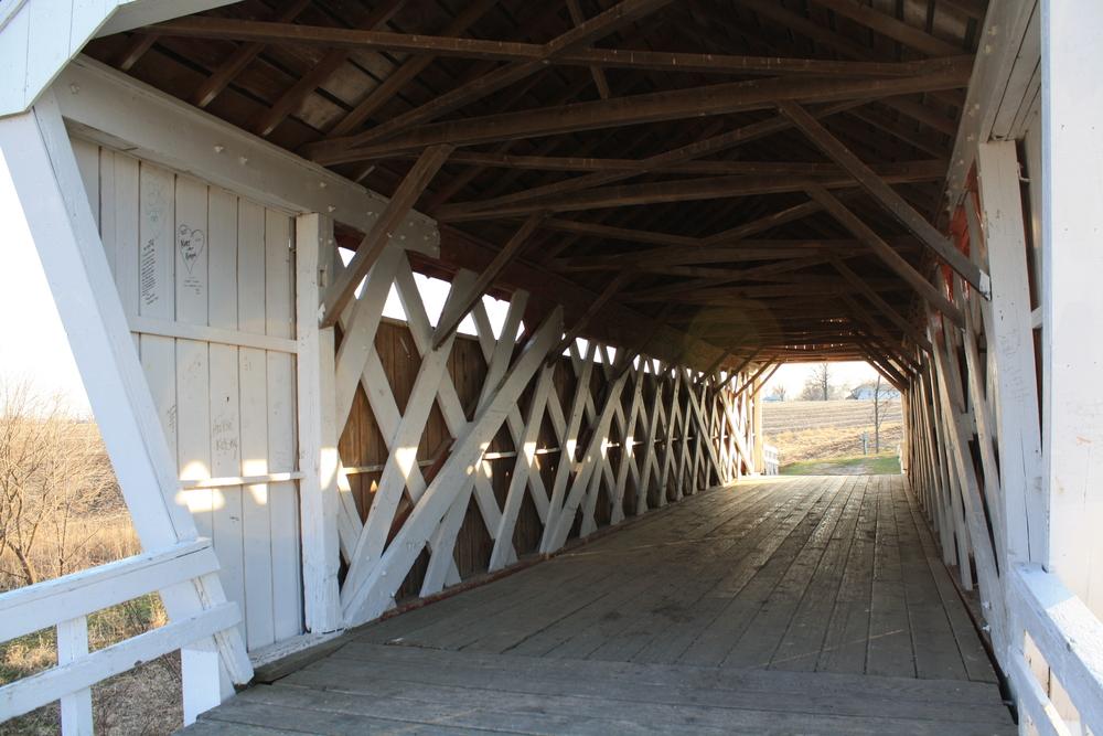 Covered Bridge in Madison County Iowa
