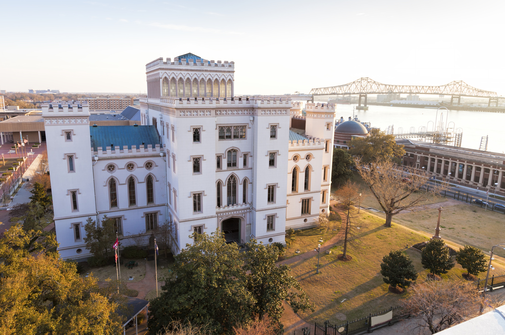 The beautiful Old Louisiana State Capitol Building