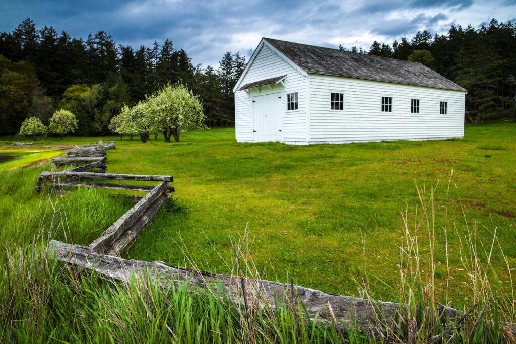 English Camp, Garrison Bay, San Juan Island National Historic Park, Washington