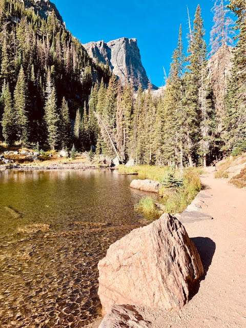 lake at Rocky Mountain National Park