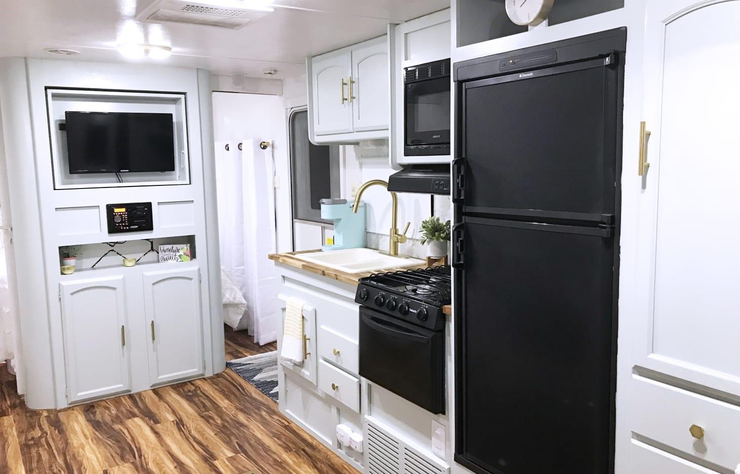 modern rv kitchen