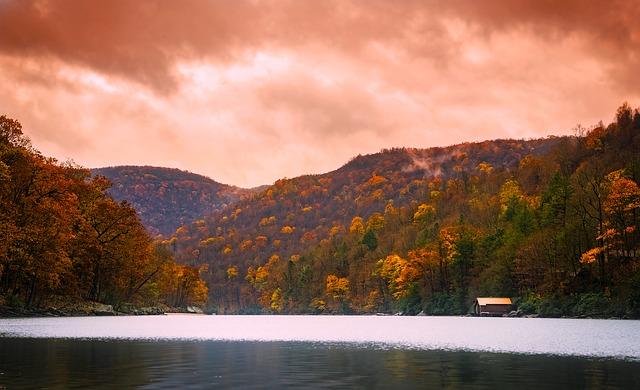 Sunset on Cheat Lake