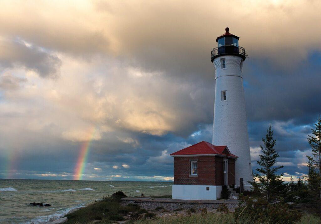Upper Peninsula Lighthouse
