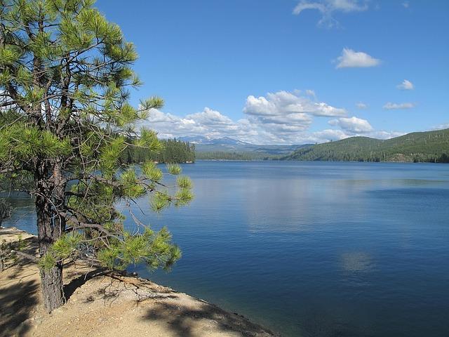 a remote lake in Nevada