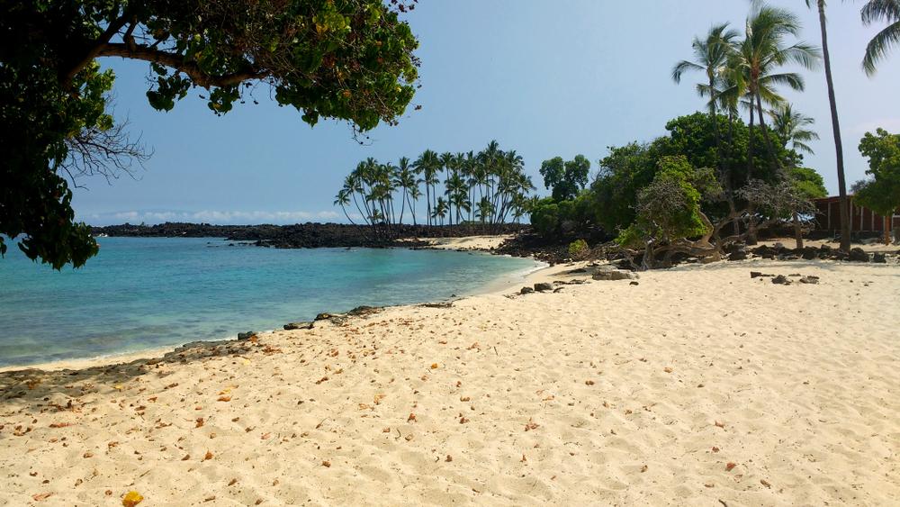 Makalawena beach, Big Island, Hawaii, USA