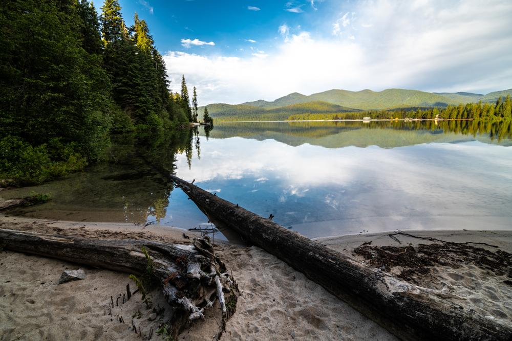 Bay of Priest Lake State Park, Lionhead Unit, Idaho