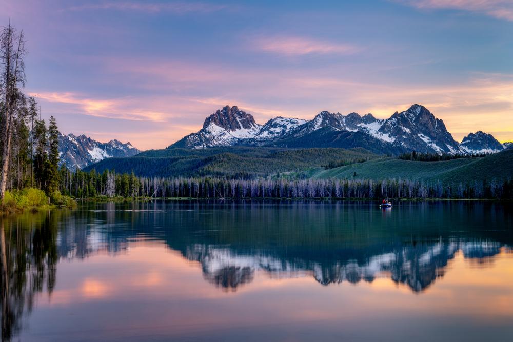 Redfish Lake is a high Idaho mountain lake