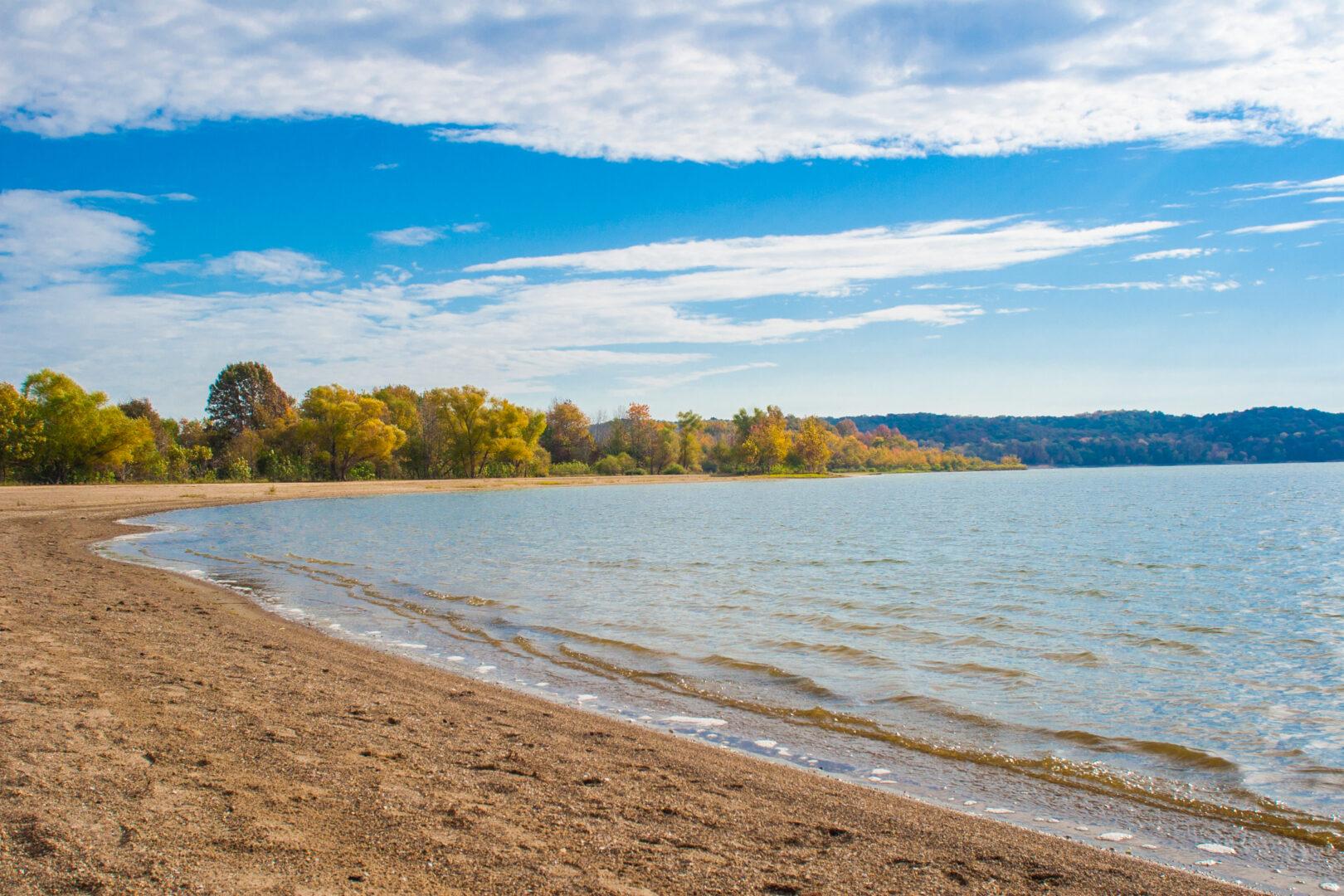 Fairfax Beach at Lake Monroe