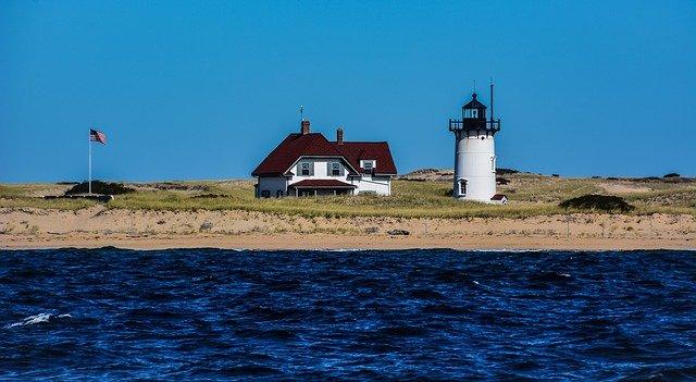a lighthouse on Cape Cod