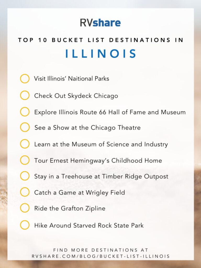 Illinois bucket list