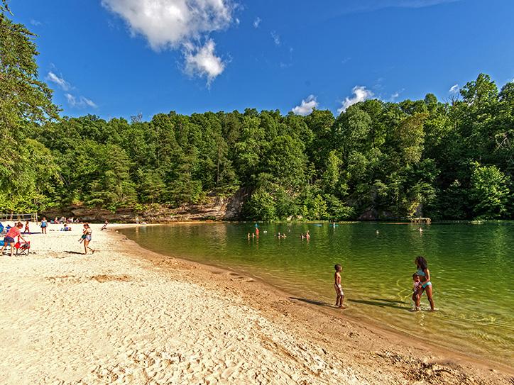 Pennyrile Forest State Resort Park Beach