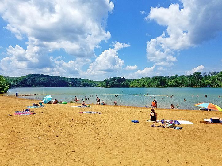 Nolin Lake State Park Beach