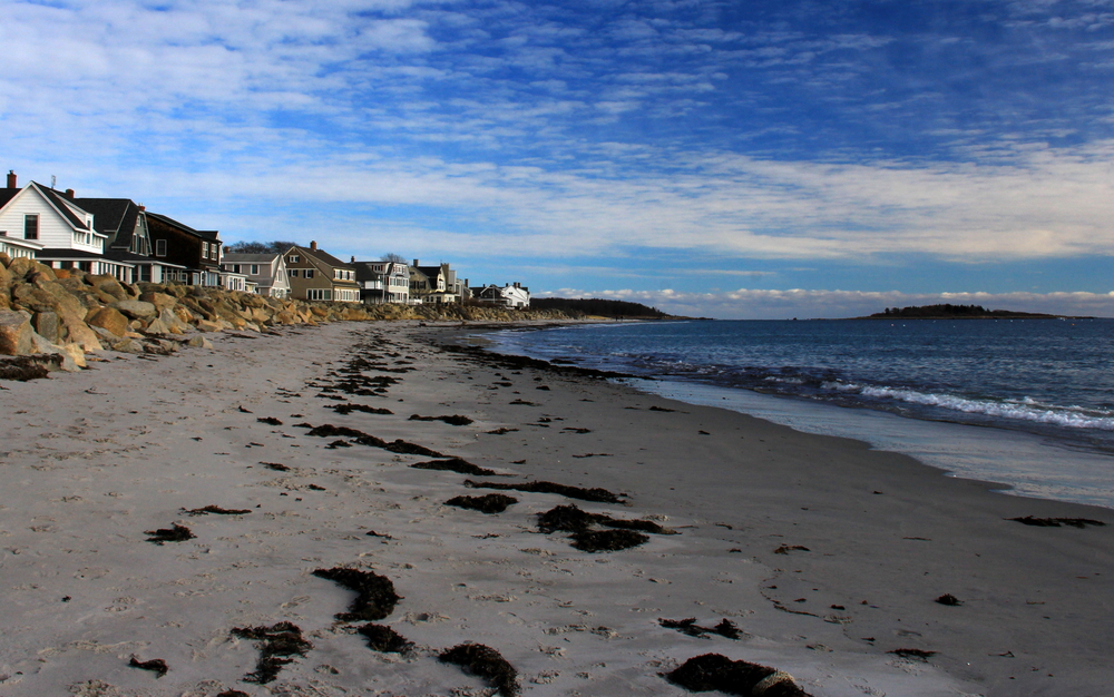 Goose Rocks beach- Maine