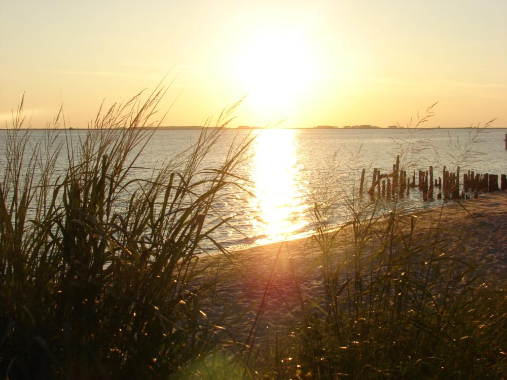 Sunset on the Nanticoke River