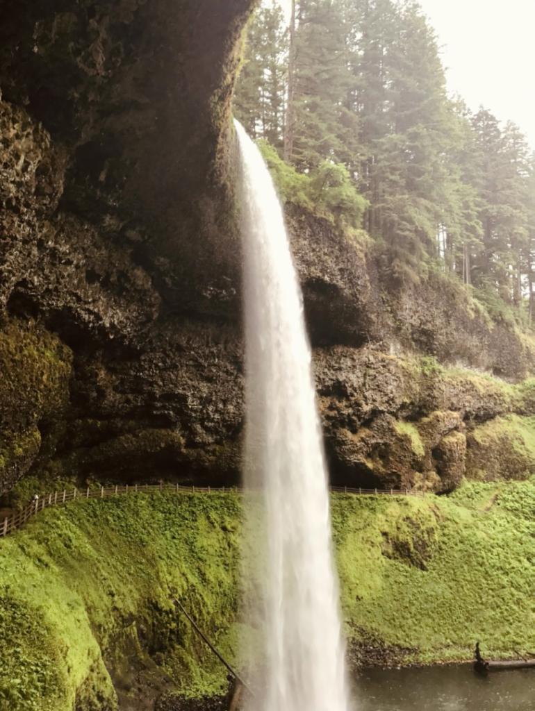 silver falls waterfall in oregon