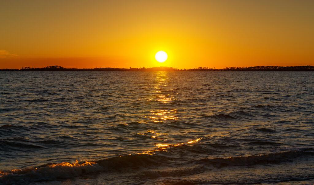 Sunset at Edisto Beach