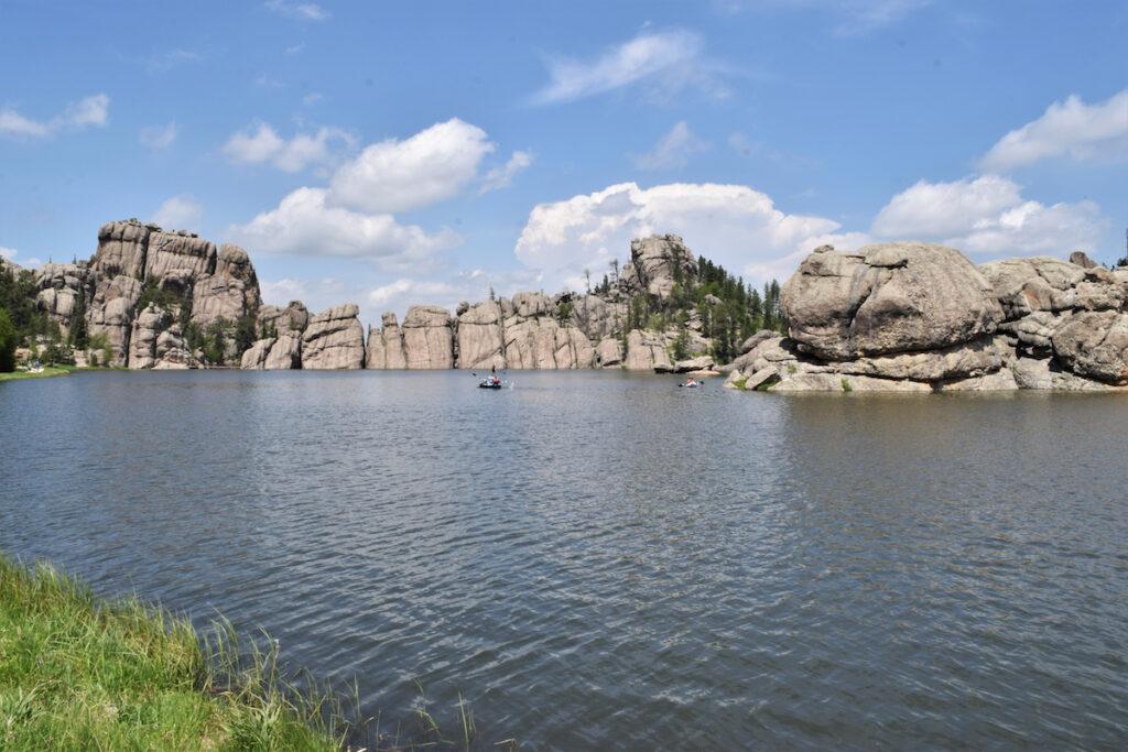Sylvan Lake in Custer State Park in South Dakota