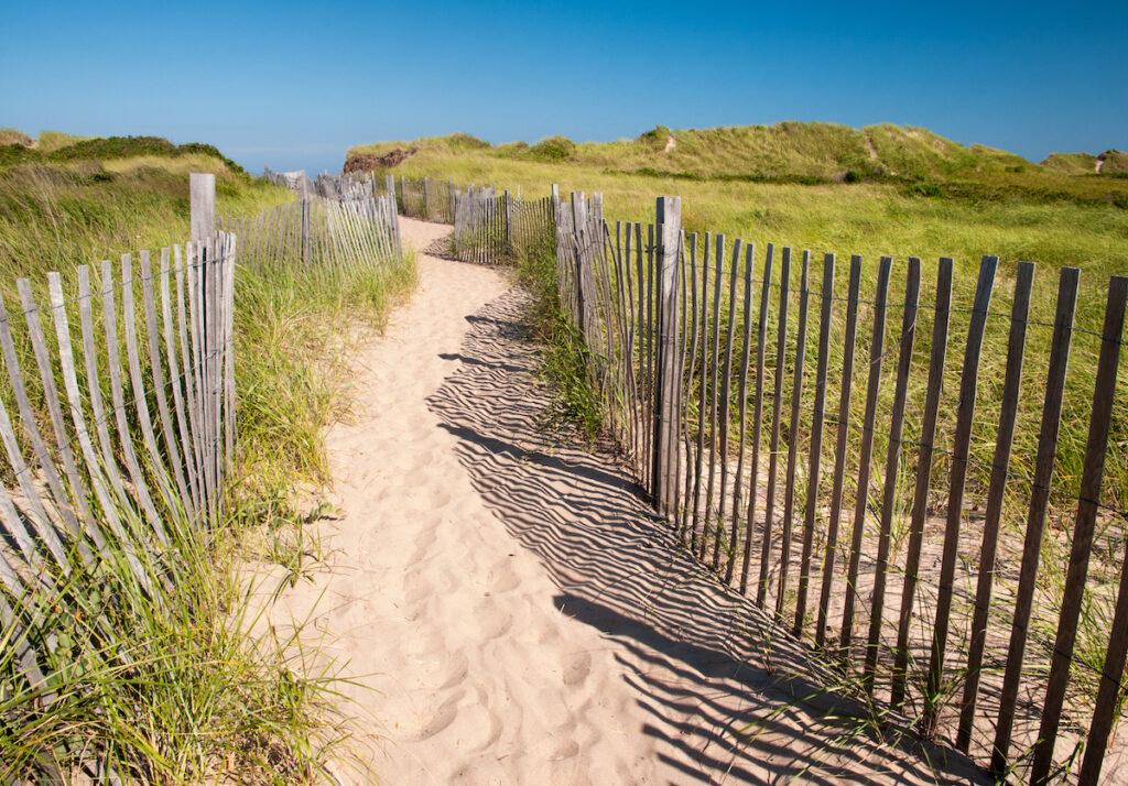 Crescent Beach at Block Island, Rhode Island