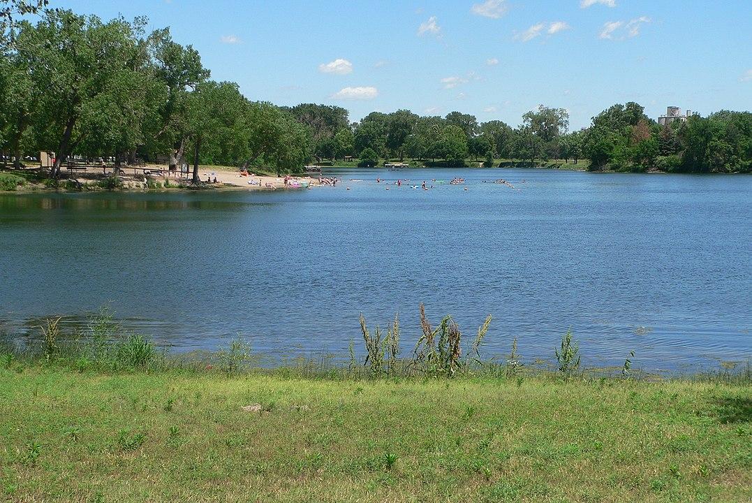 Louisville State Recreation Area beach nebraska