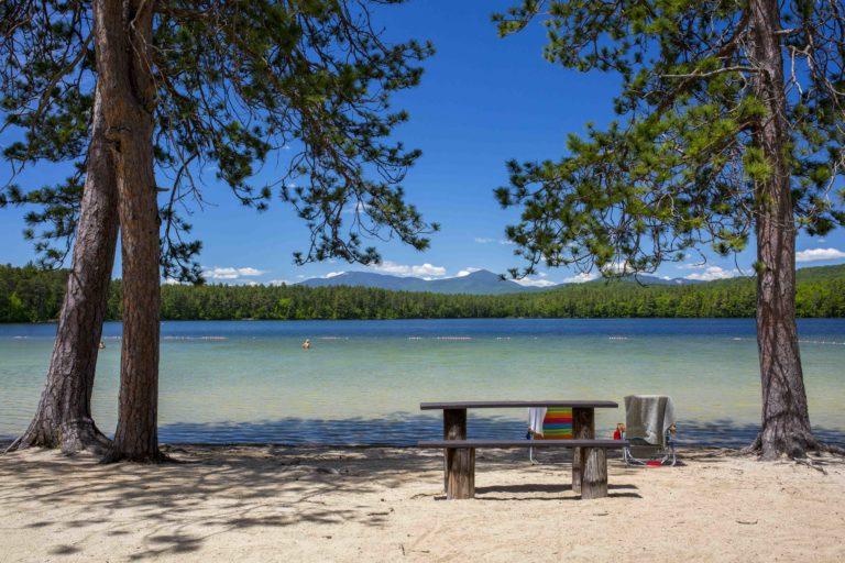 white lake state park beach new hampshire