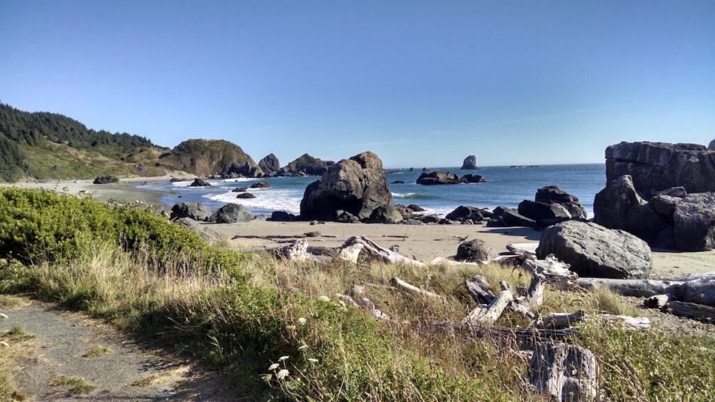 Lone Ranch Beach near Brookings Oregon