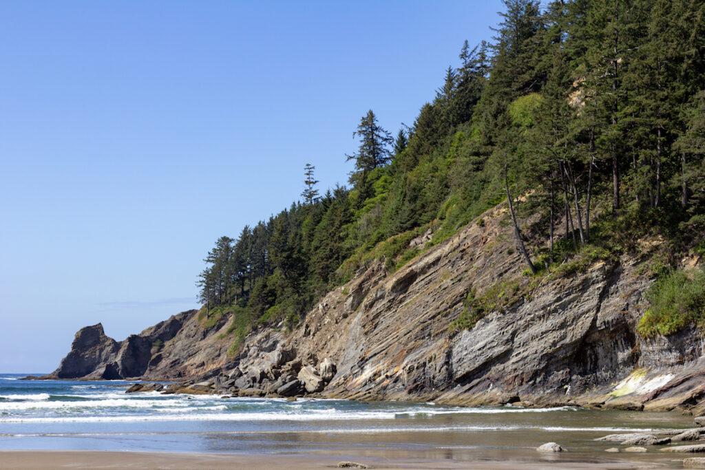 Short Sand Beach on the Oregon coast