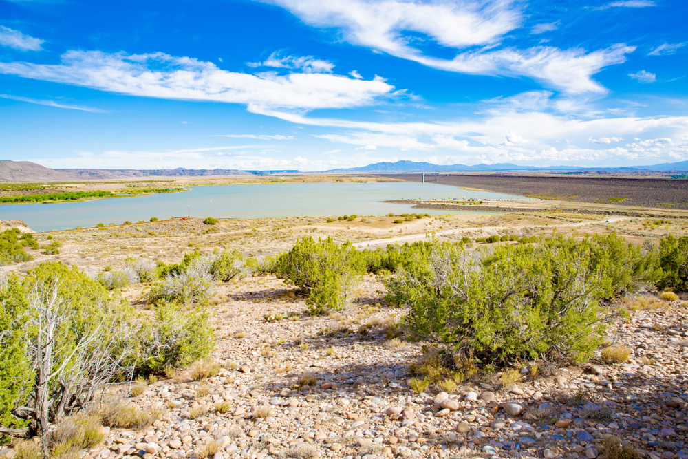 Cochiti Lake Recreation Area in New Mexico, USA