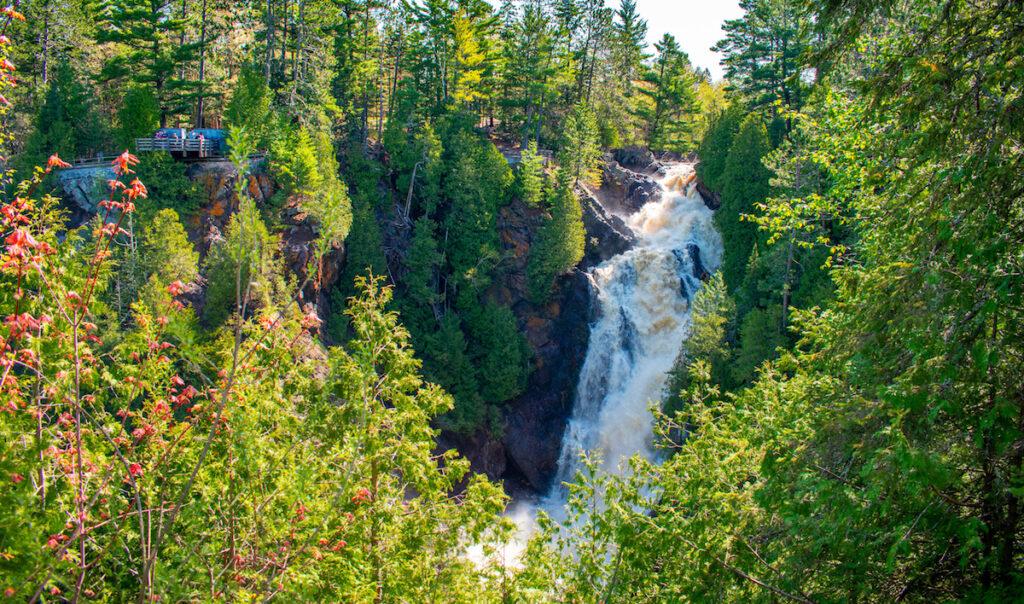 Big Manitou Falls Wisconsin