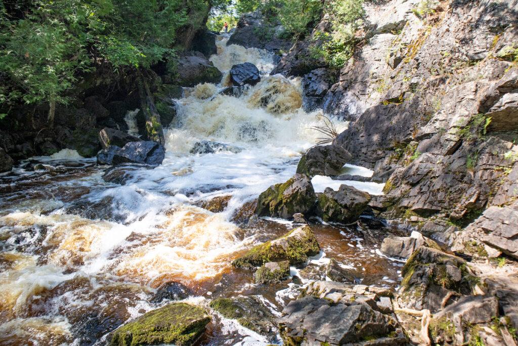 Long Slide Falls Wisconsin