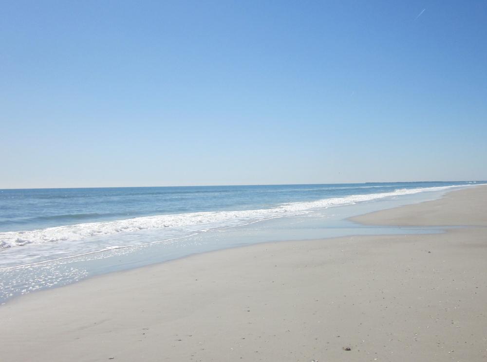 Quiet Beach in Wilmington, North Carolina