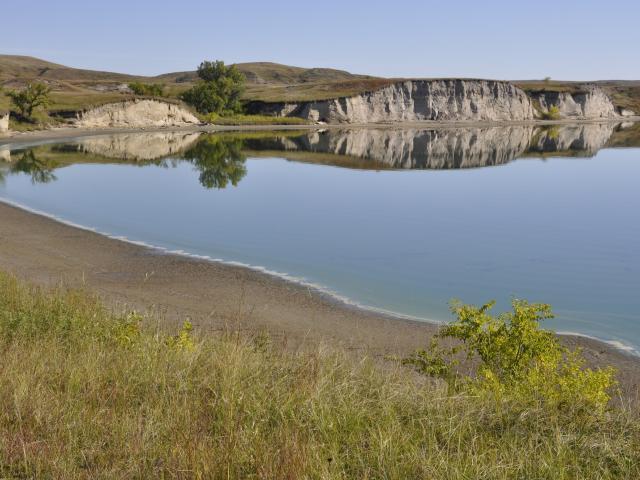 Lake Tschida north dakota
