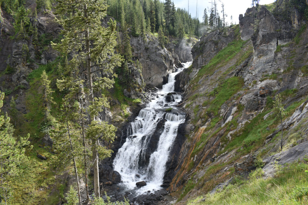 Mystic Falls in Yellowstone National Park, Wyoming