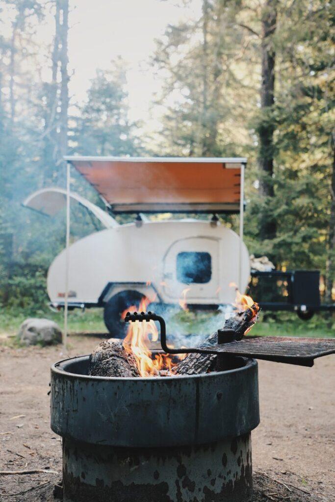COE campground campsite